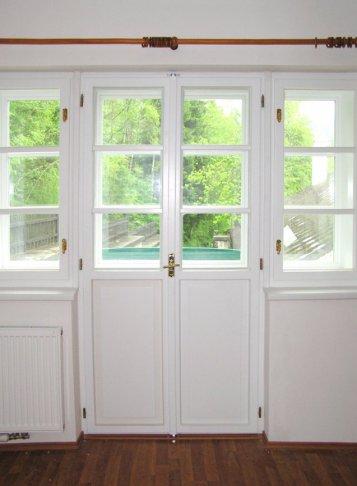 Výroba dřevěných špaletových oken